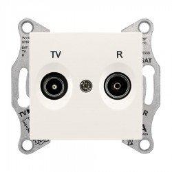 Механизъм розетка TV-R 1dB крем