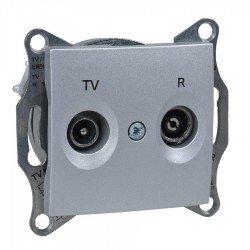 Механизъм розетка TV-R 1dB алуминий