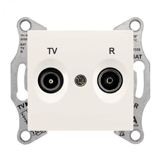 Механизъм розетка TV-R 4dB крем