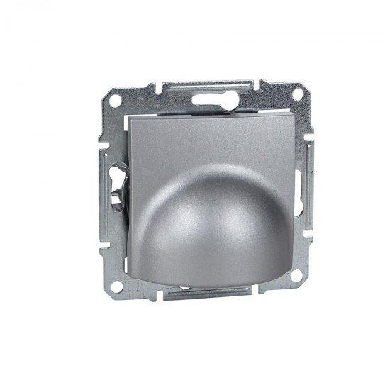 Кабелен излаз 25 А, алуминий (механизъм + монт. рамка)
