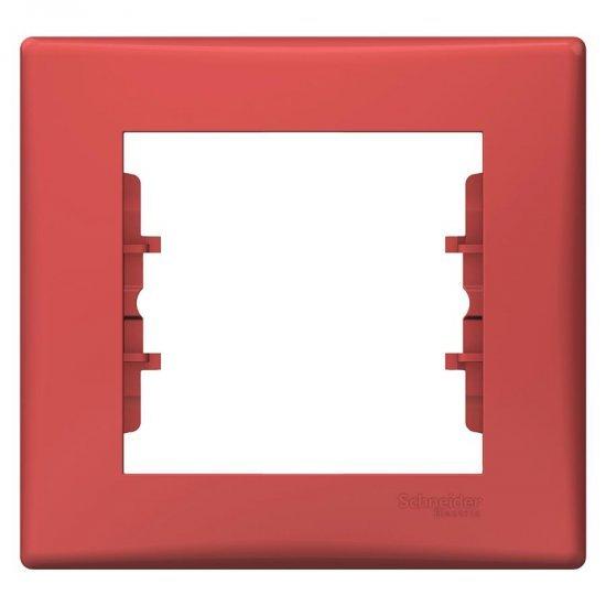 Рамка единична червена