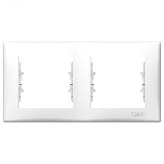 Рамка 2-на бяла