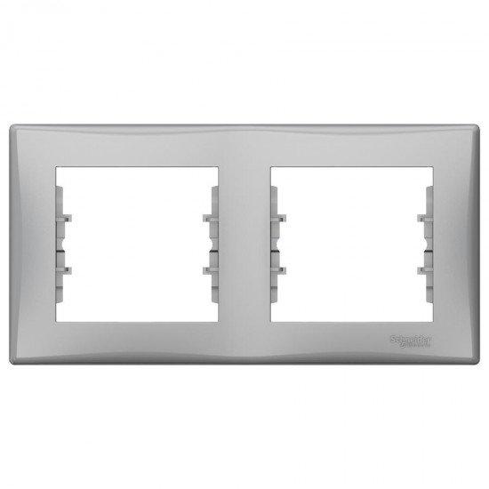 Рамка 2-на алуминий