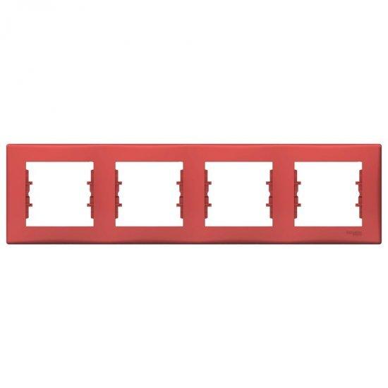 Рамка 4-на червена