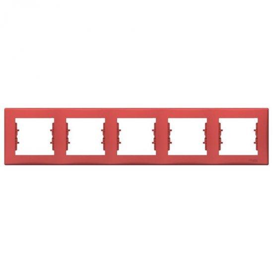 Рамка 5-на червена