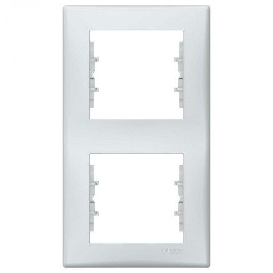 Рамка 2-на вертикална сива
