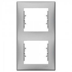 Рамка 2-на вертикална алумиинй