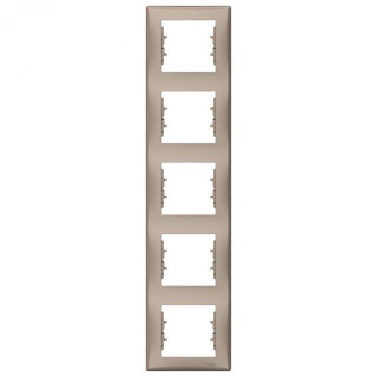 Рамка 5-на вертикална титаний