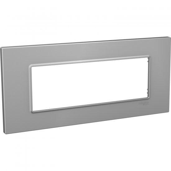 Рамка декоративна шестмодулна сребро