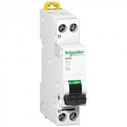 Автоматичен прекъсвач - IDPN - 1P + N - 2A - крива С