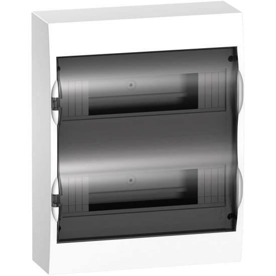 Табло Easy 9 2x12 модула ОМ прозрачна врата