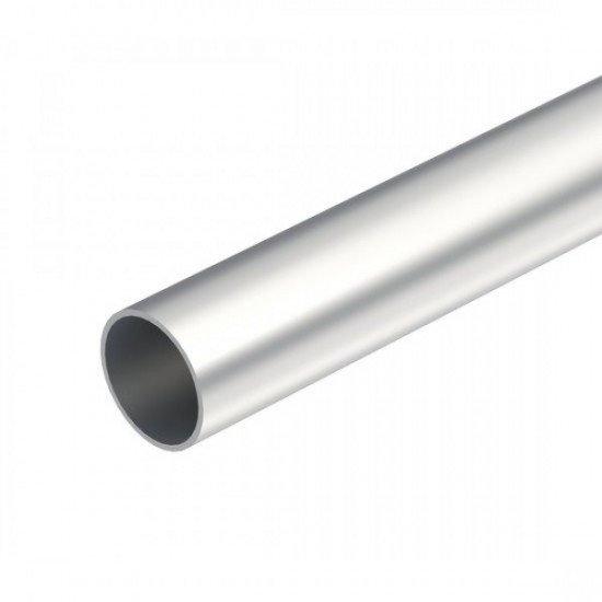 Тръба алуминиева, без резба Ф 25